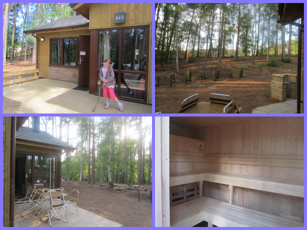 Executive lodges at Woburn Forest