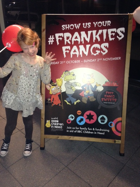 """frankiesfangs at Frankie and Bennys"