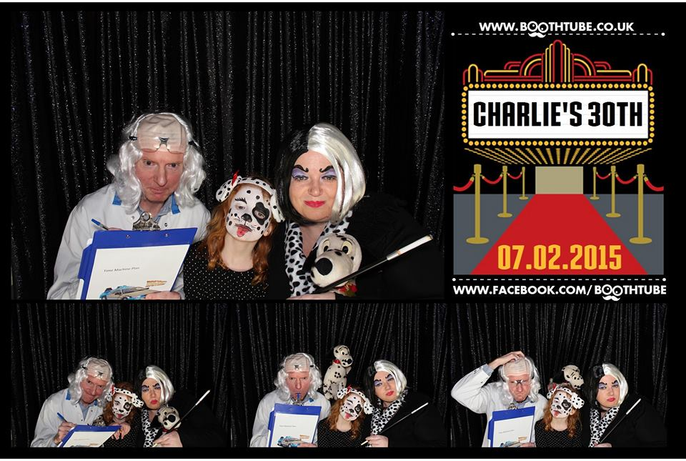 Fancy dress fun in the photo booth