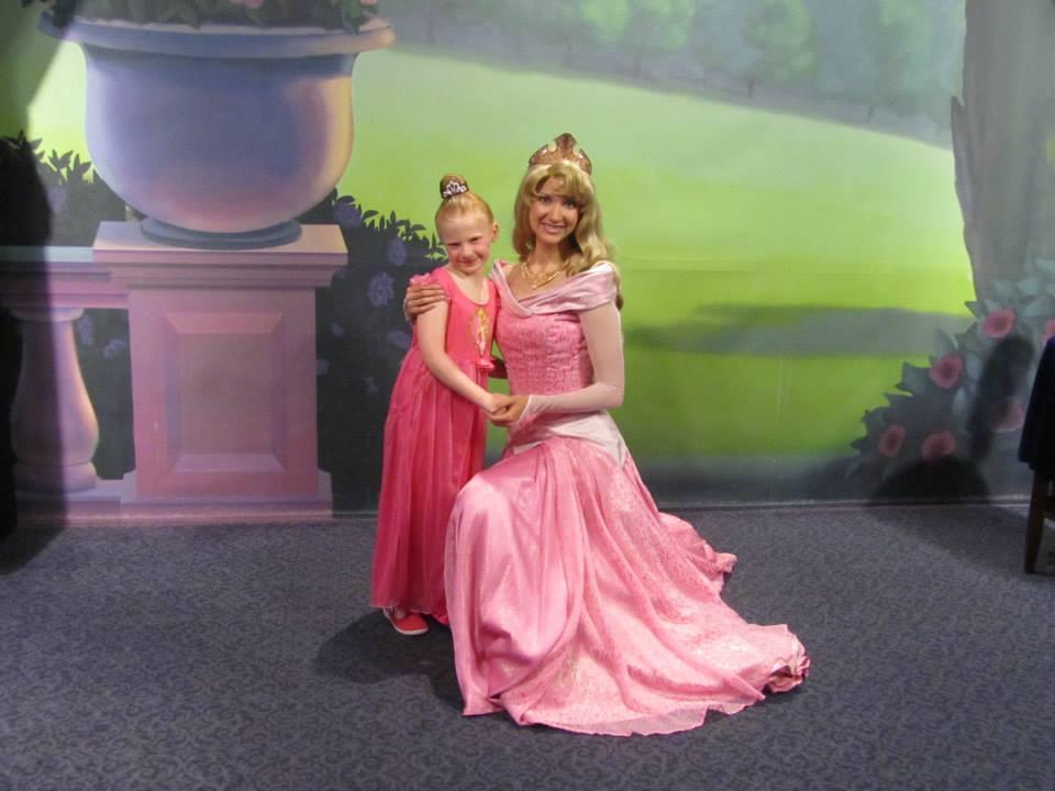 A princess meeting a princess !