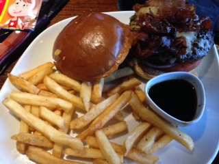 The Jack Daniels Double Glazed Burger
