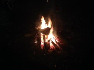 Keep warm around the fire