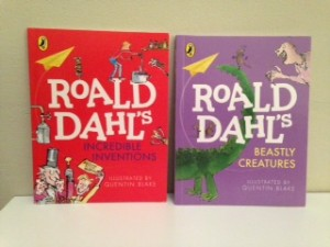 2 of the books which will be making an appearance in the Happy Meals