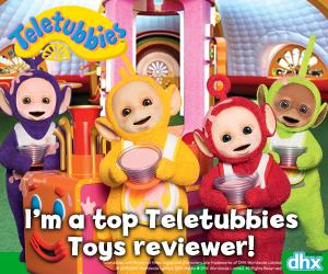 Teletubbies Mums TV Blogger Button 2