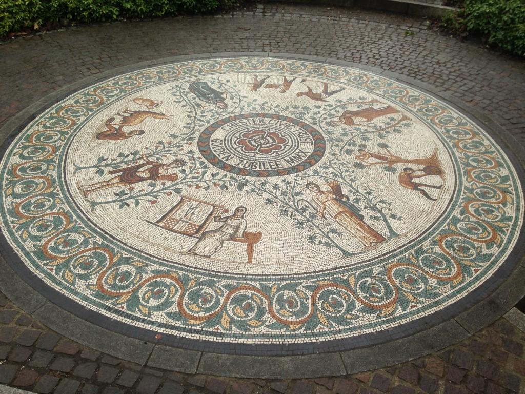 Chester Roman Garden