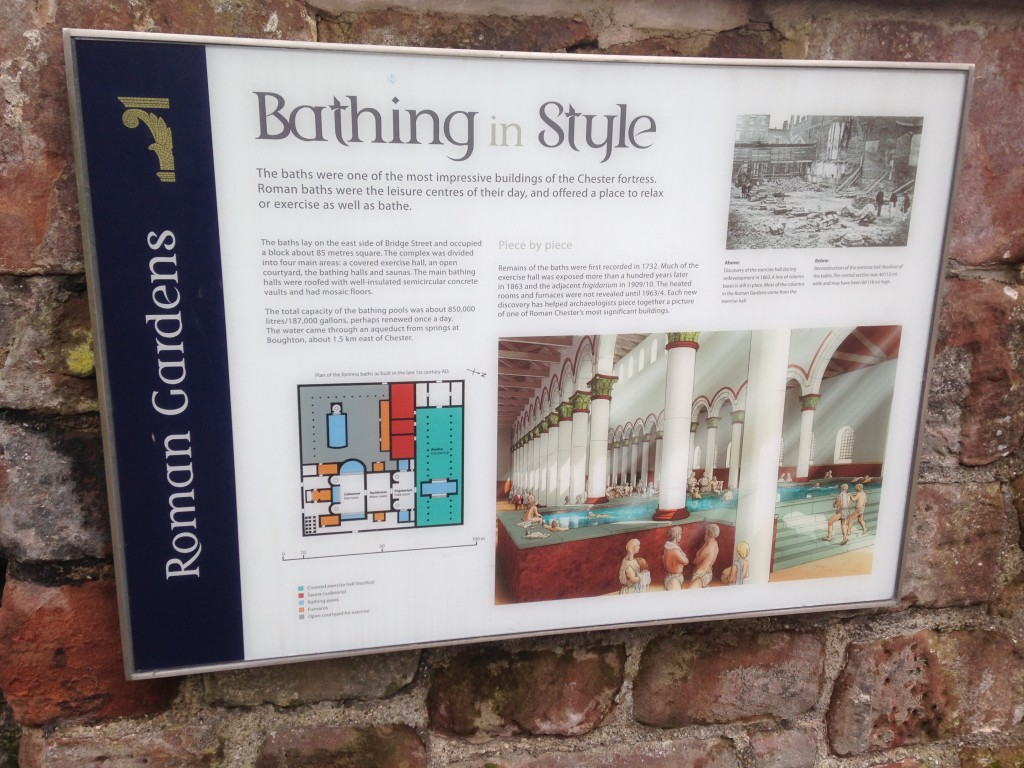 Chester Roman Baths