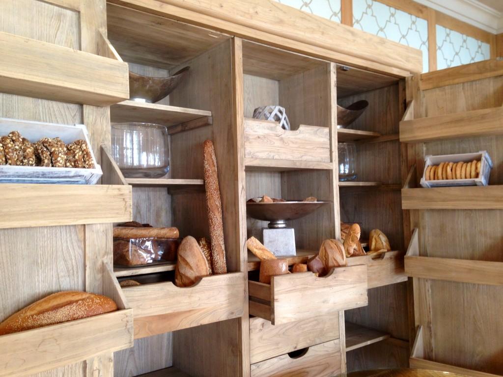 Ikos Olivia Provence Bread Cupboard
