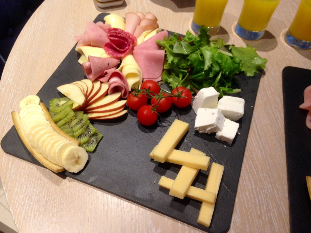Ikos Olivia room service breakfast