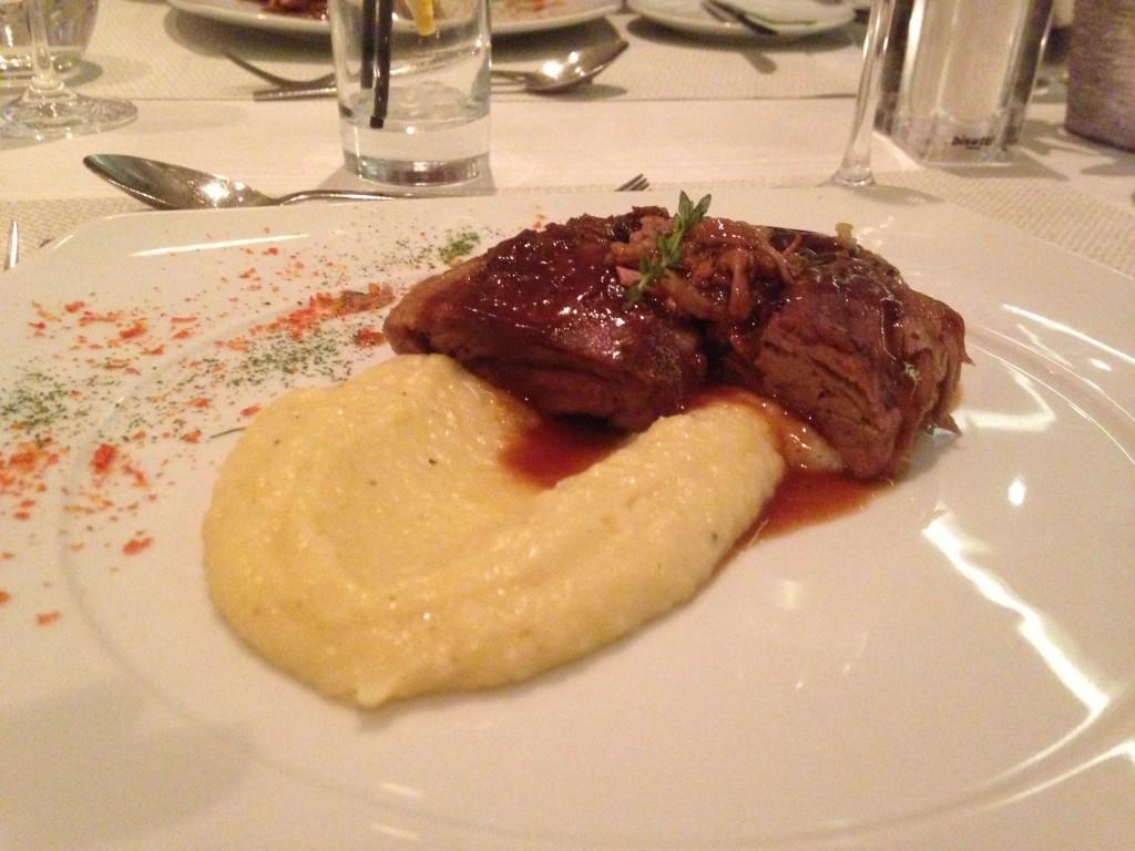 Ikos Olivia Lamb dish