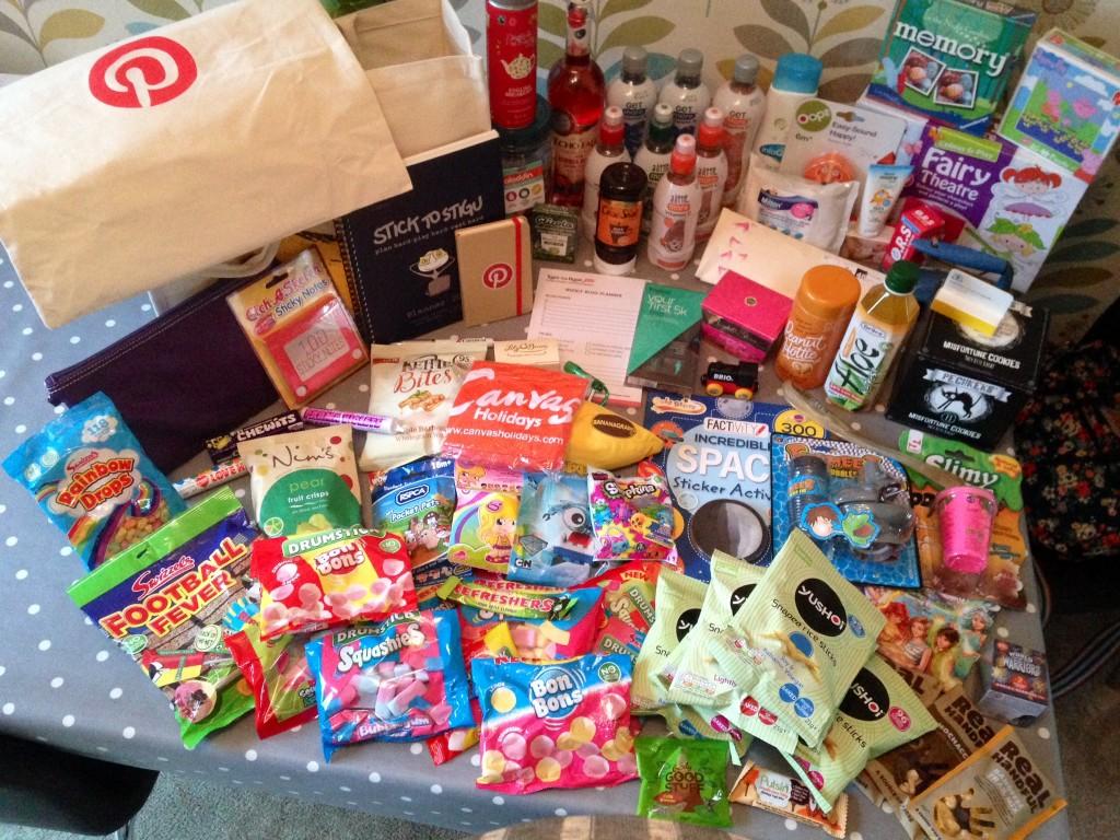 Blog on goody bags