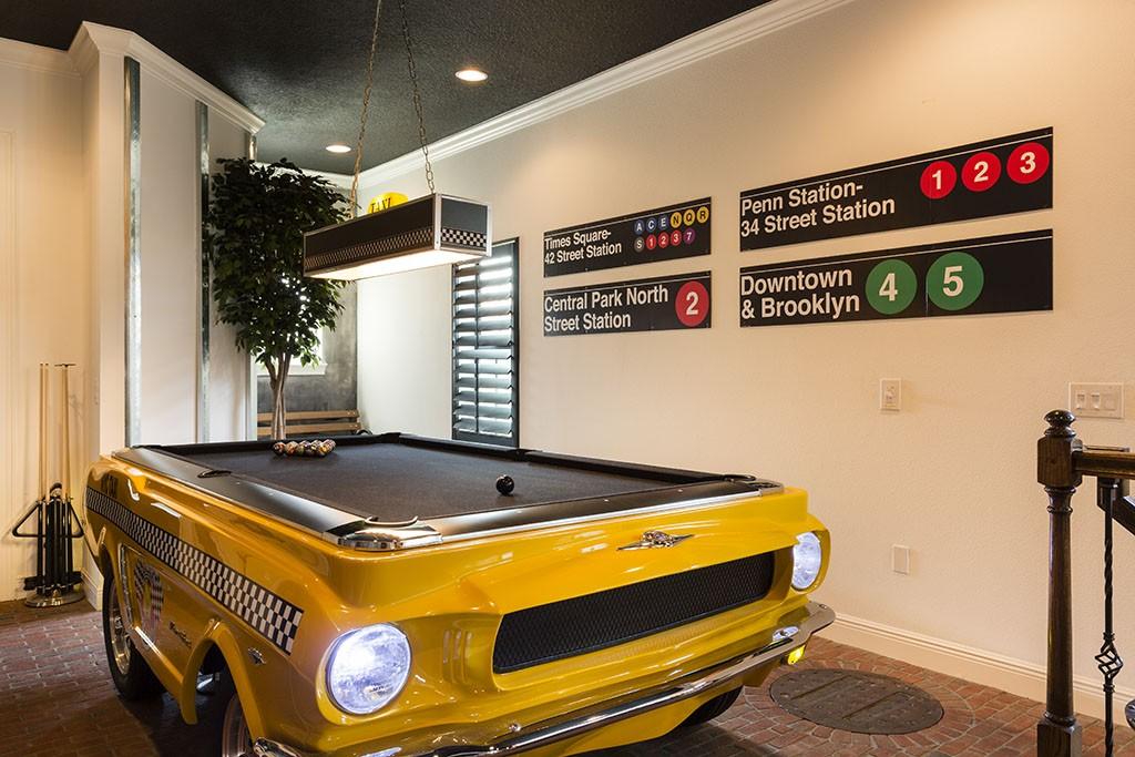 Top Villa Games Room
