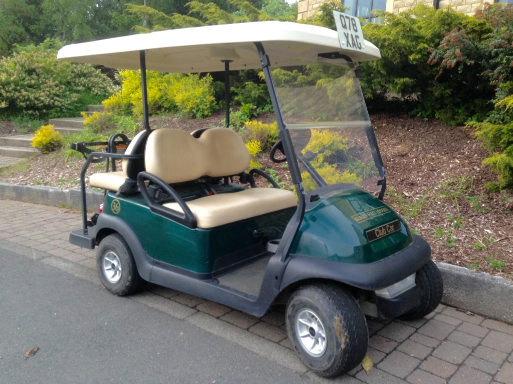 Q Lodges Golf Buggy