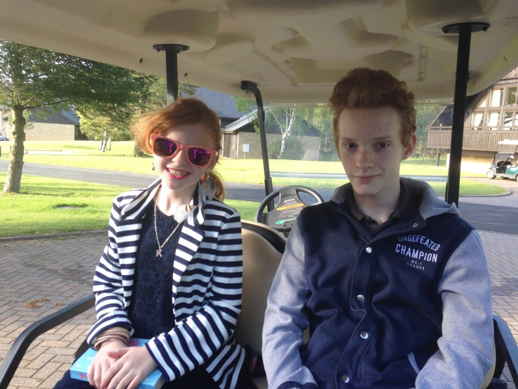 Q Lodge Golf Buggy
