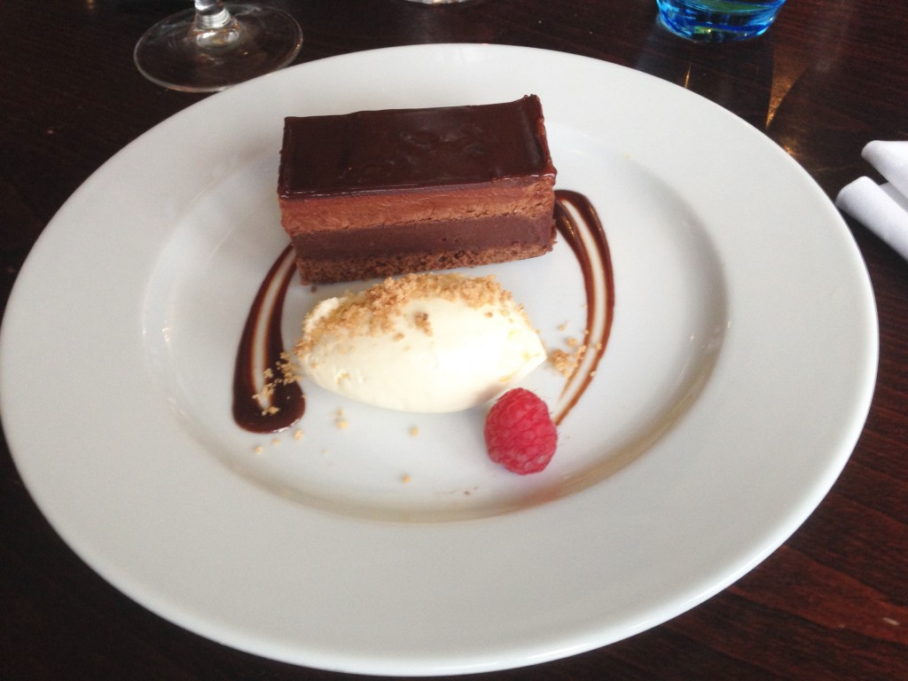 Dessert at Slaley Hall