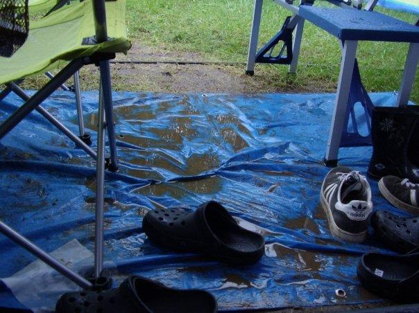 Camping mud