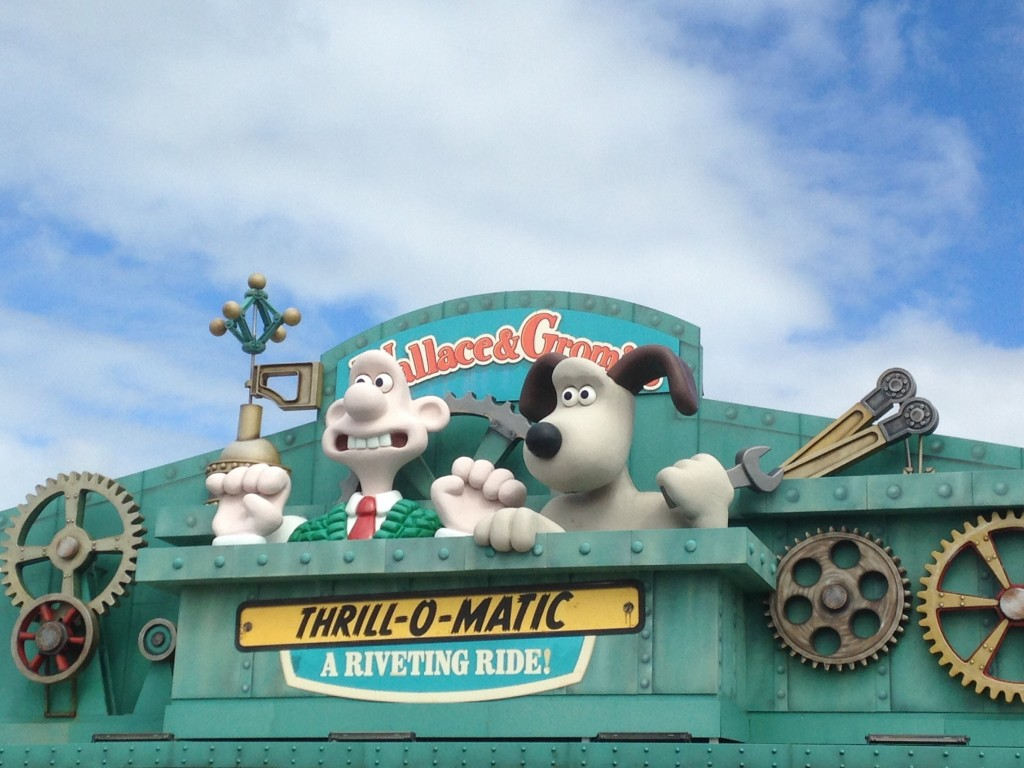 Wallace and Gromit Ride