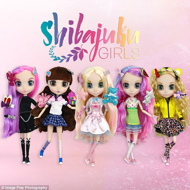 Shibajuku Doll Range