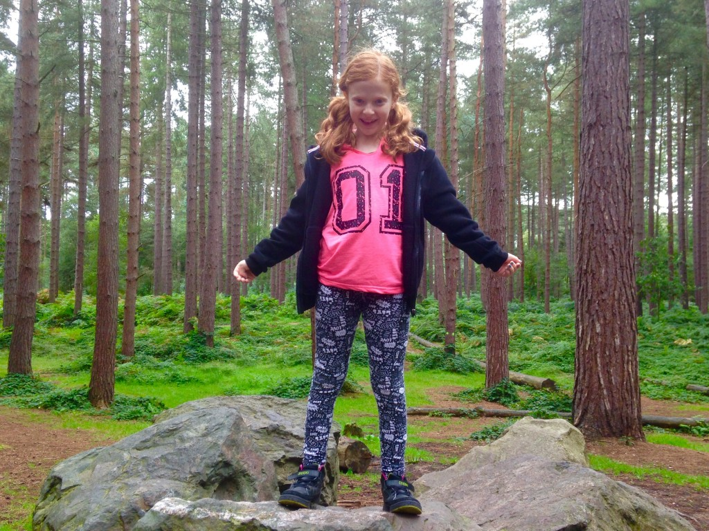 Daughter in the forest