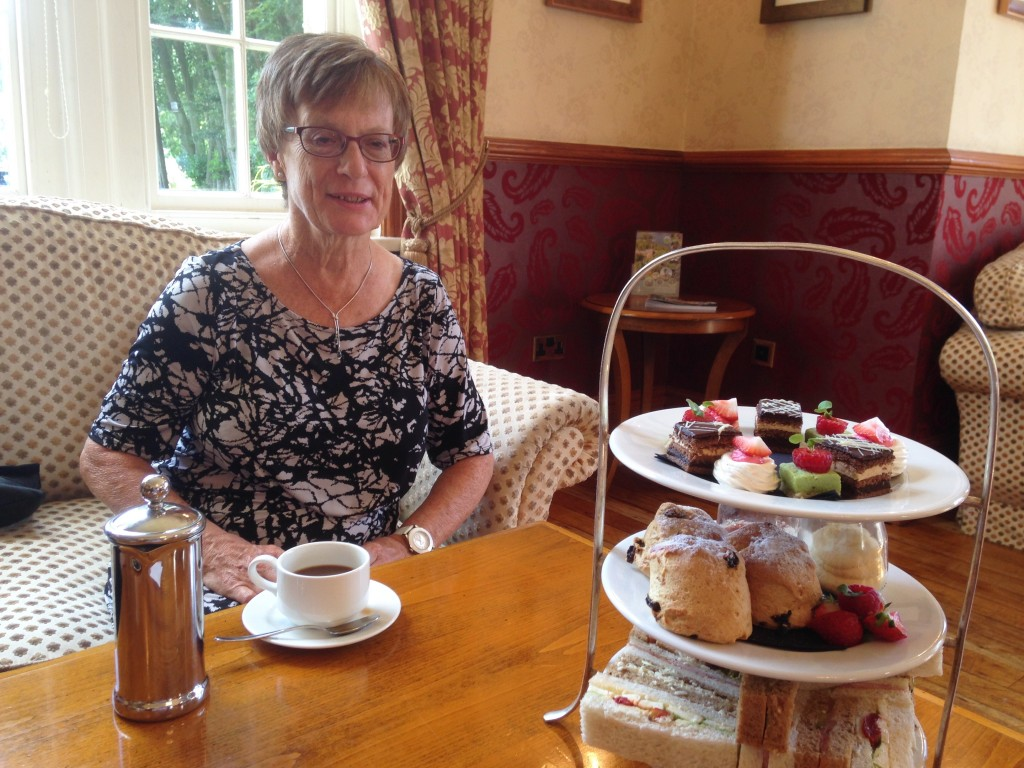 Nunsmere Hall Hotel Afternoon Tea
