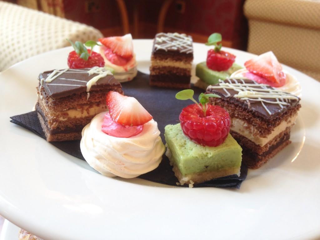 Aftenoon Tea cakes