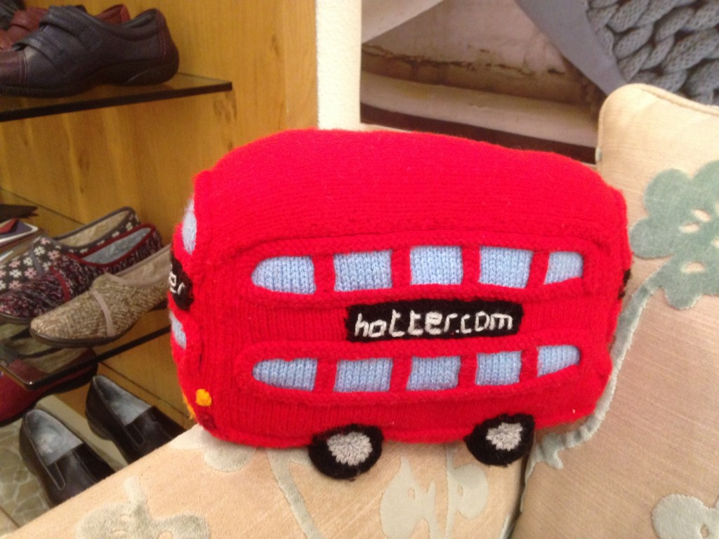 The Hotter bus