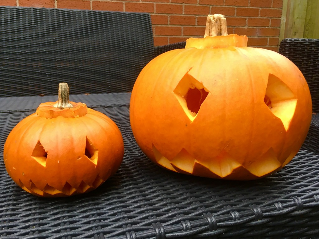 Carved pumpkins - The Williams World