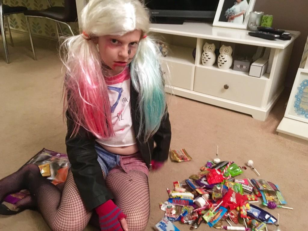 Harley Quinn at Halloween