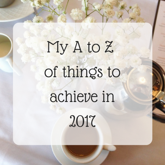My A to Z of 2017