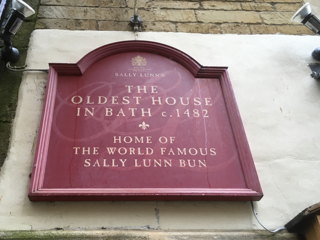 Sally Lunn Bun - Oldest house in Bath