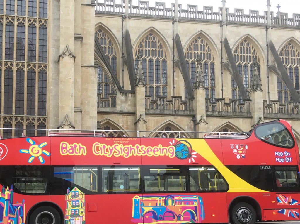 Bath tour bus