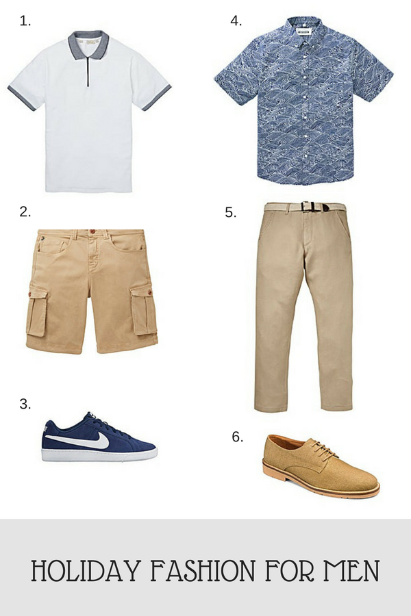 Holiday fashion for men