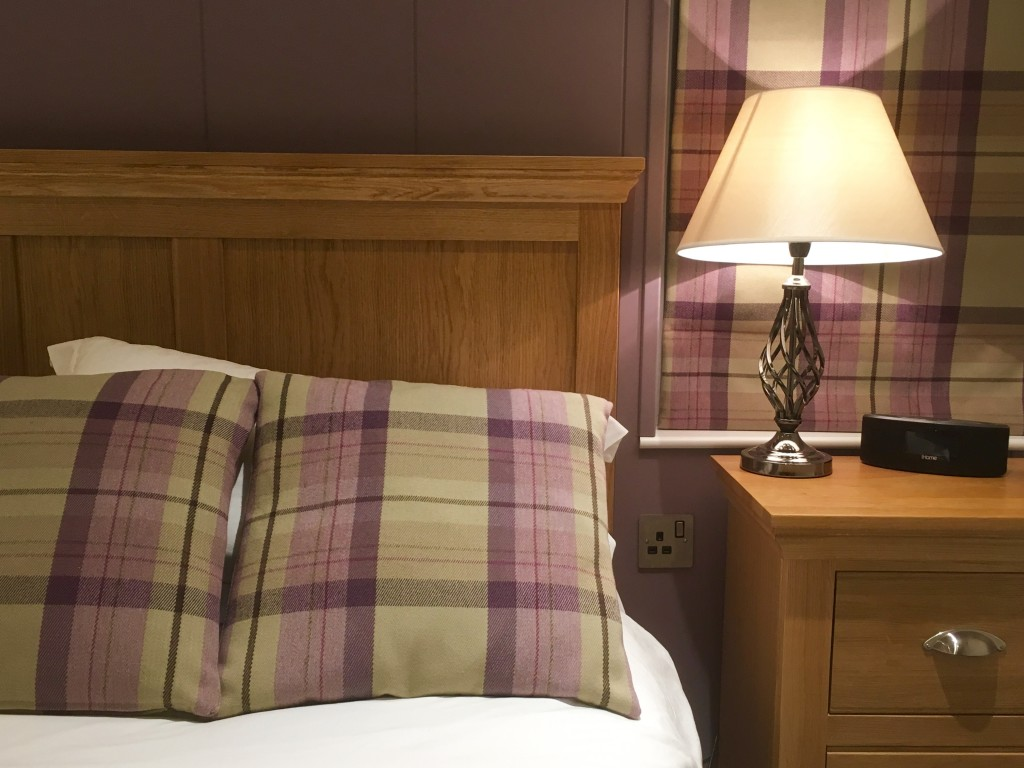 Bedroom at Bath Mill Lodge