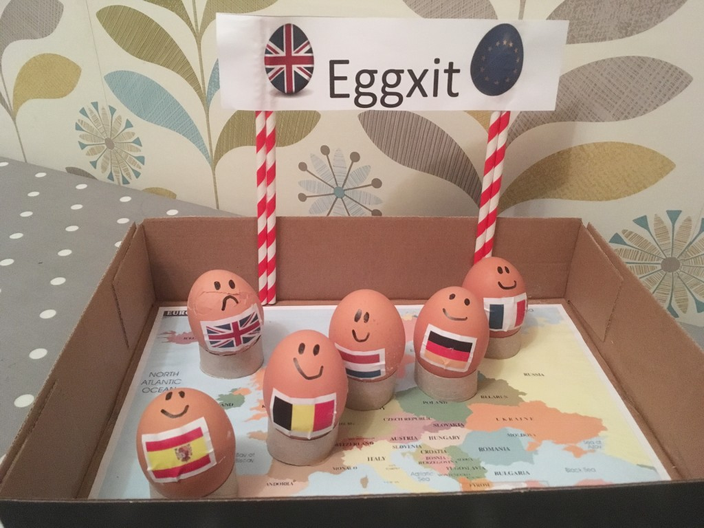 Eggxit - Decorate an egg