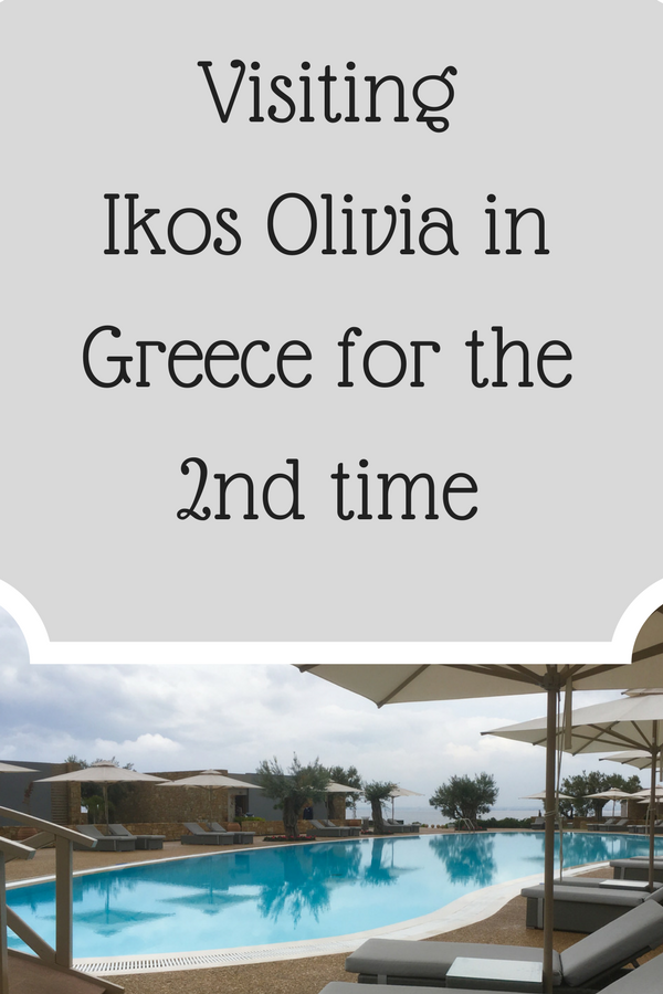 Visiting Ikos Olivia for the 2nd time - The Williams' World Travel Blog