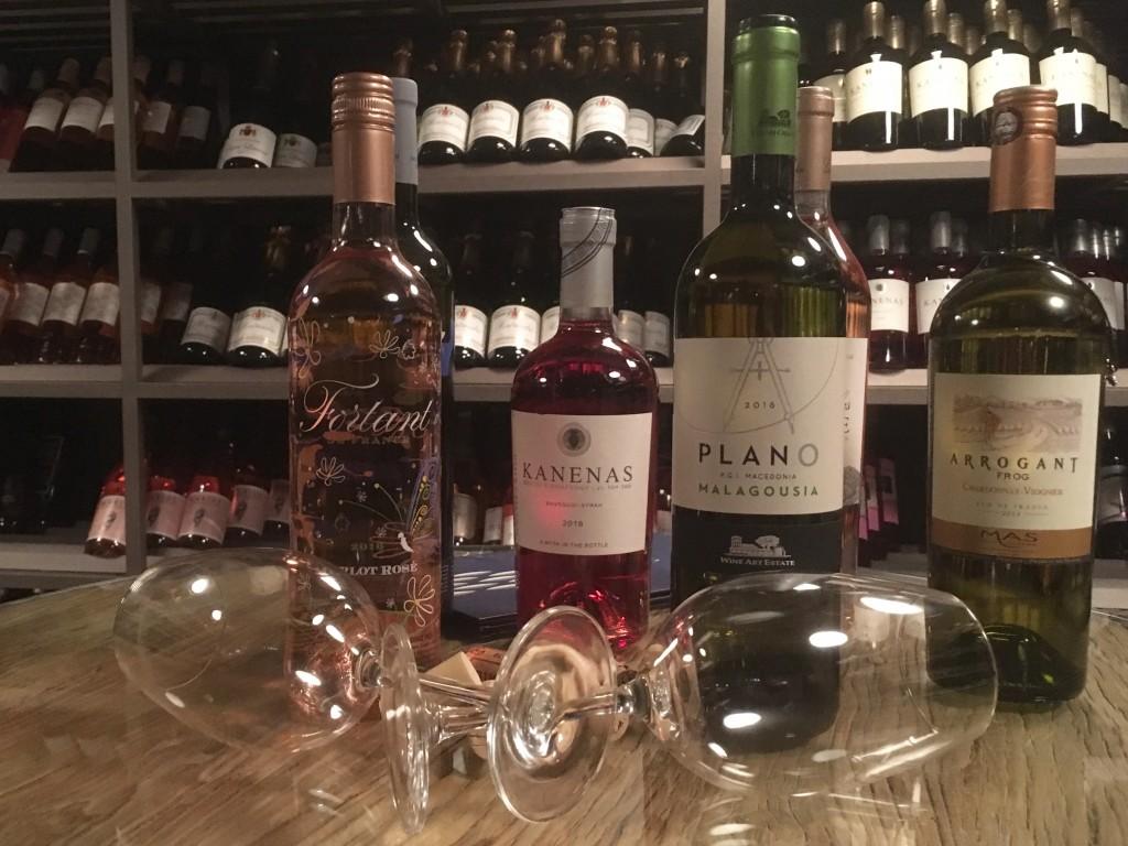Ikos Olivia wine
