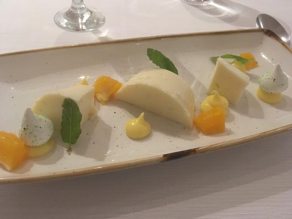 Dessert at Ikos Olivia