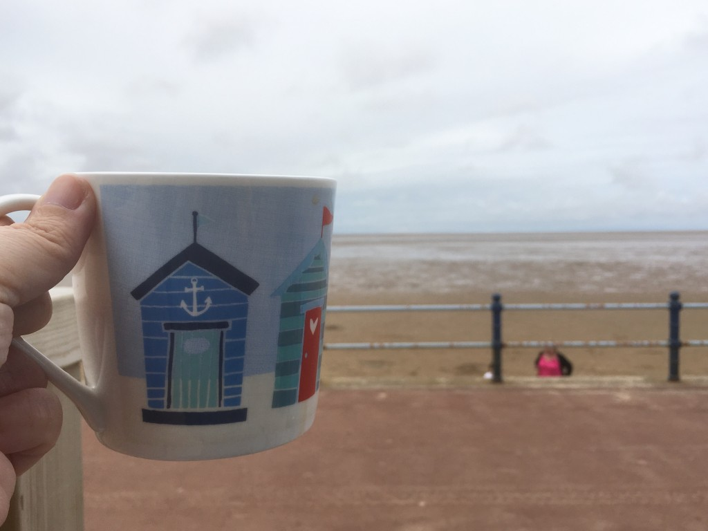 Cup of tea at the beach
