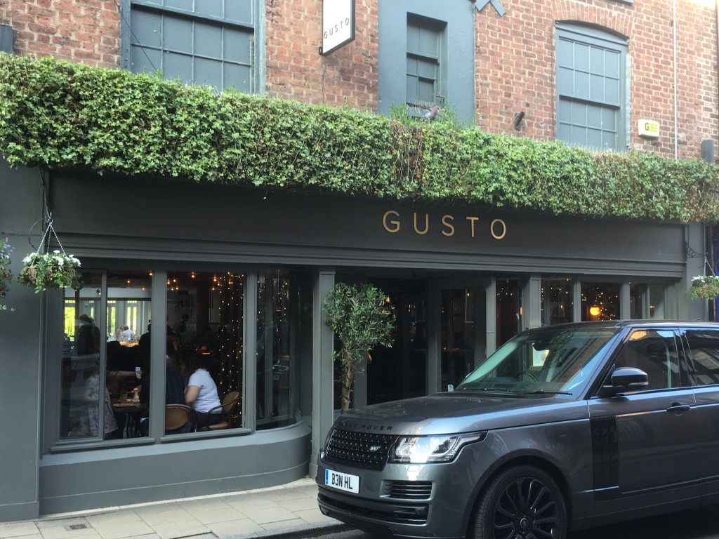 Gusto in Knutsford