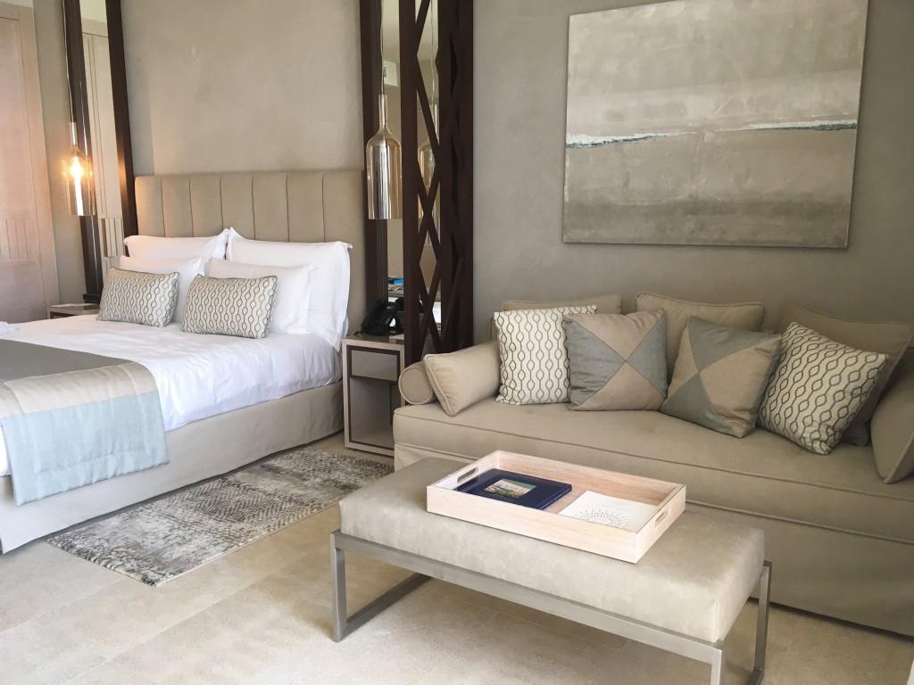 Beachfront suite at Sani Resort