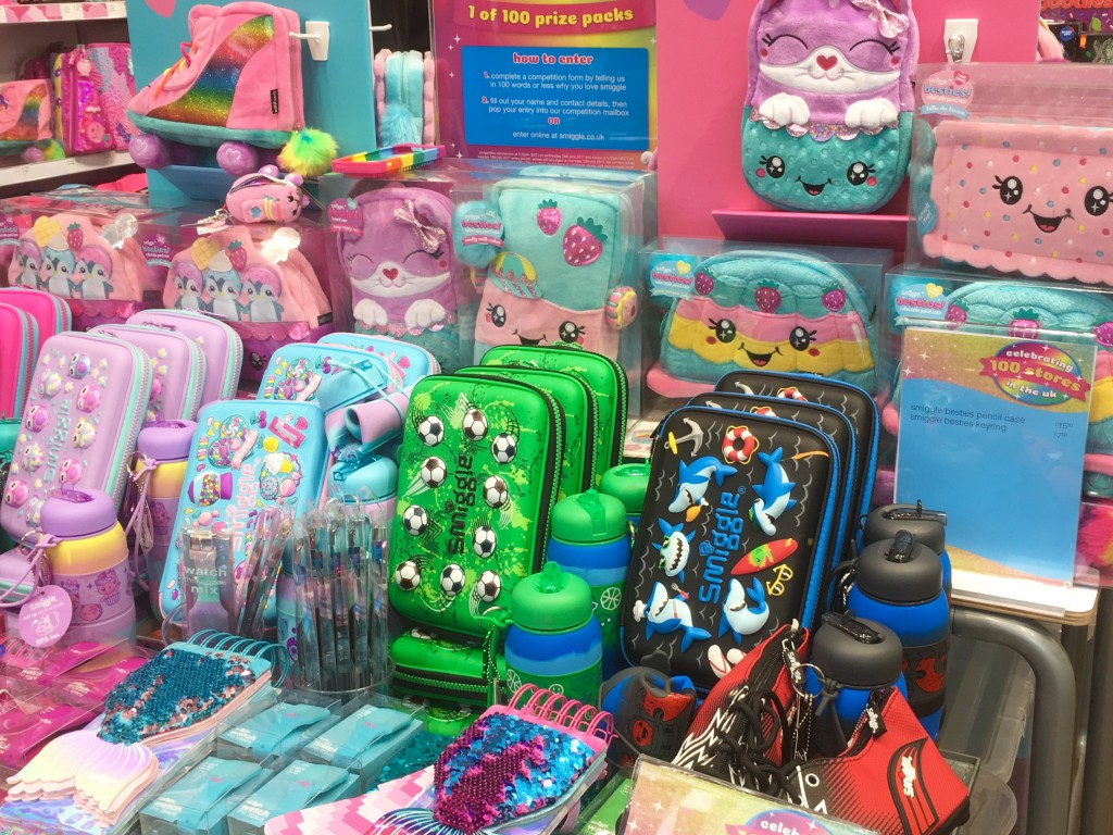 Smiggle store - Warrington