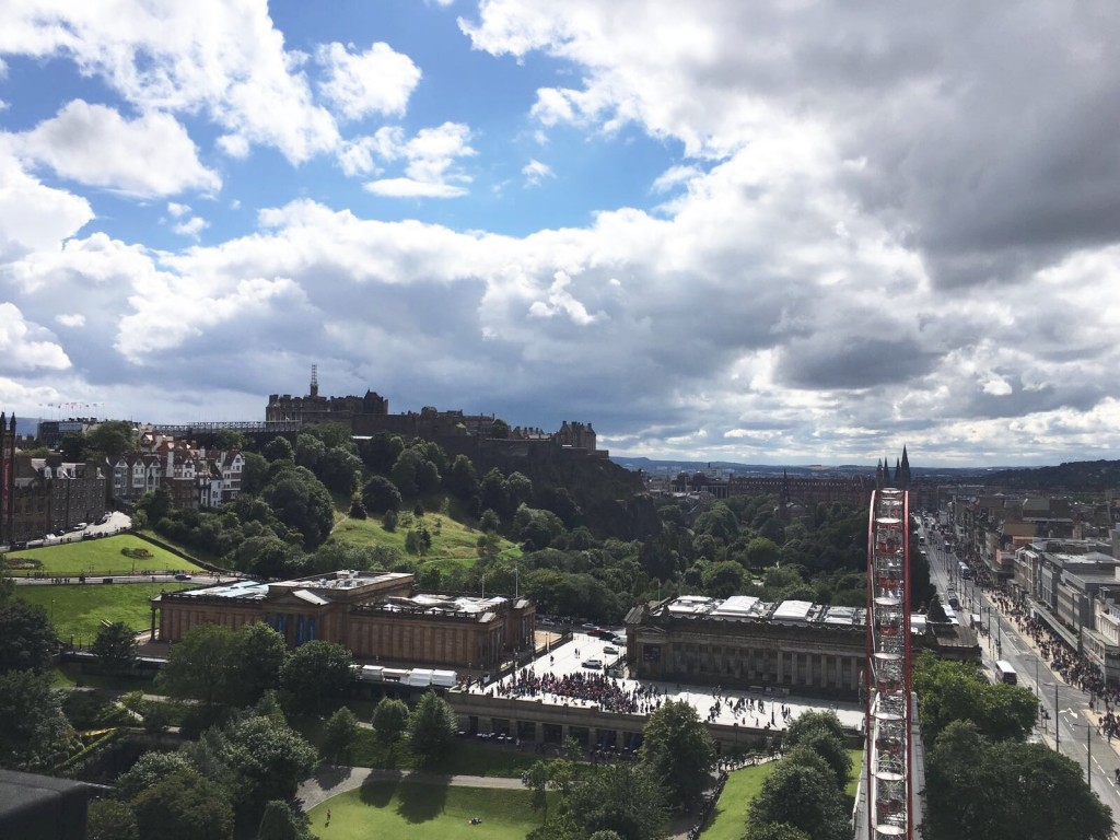 View from the Scot Momument