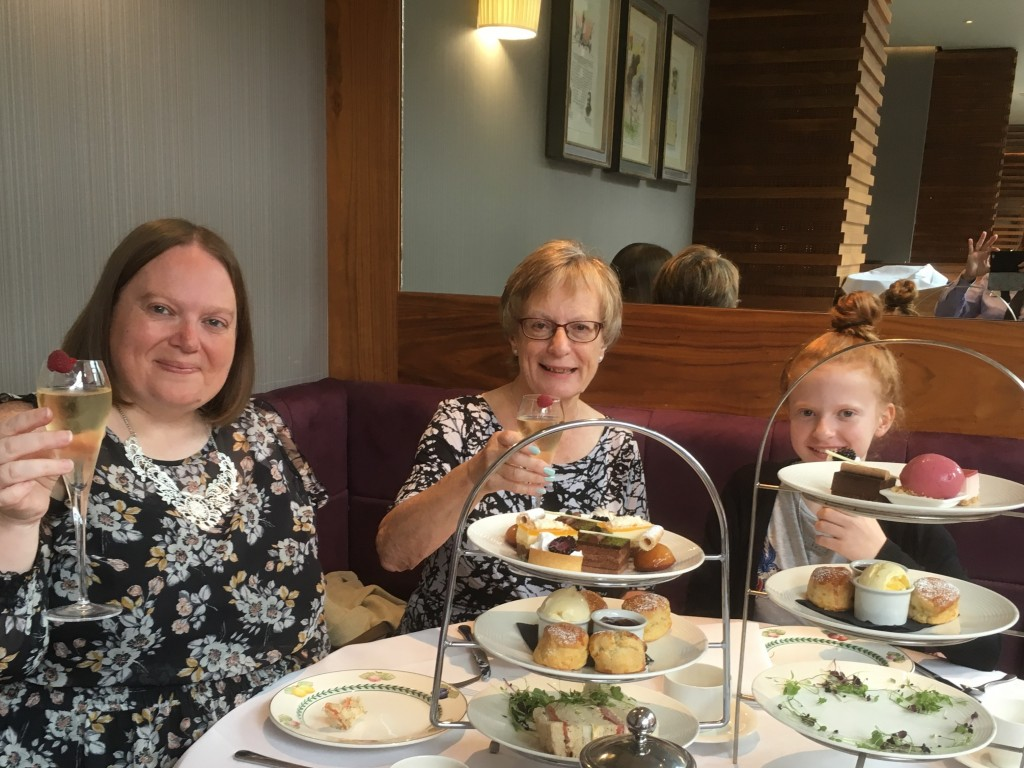 Afternoon Tea at The Mere