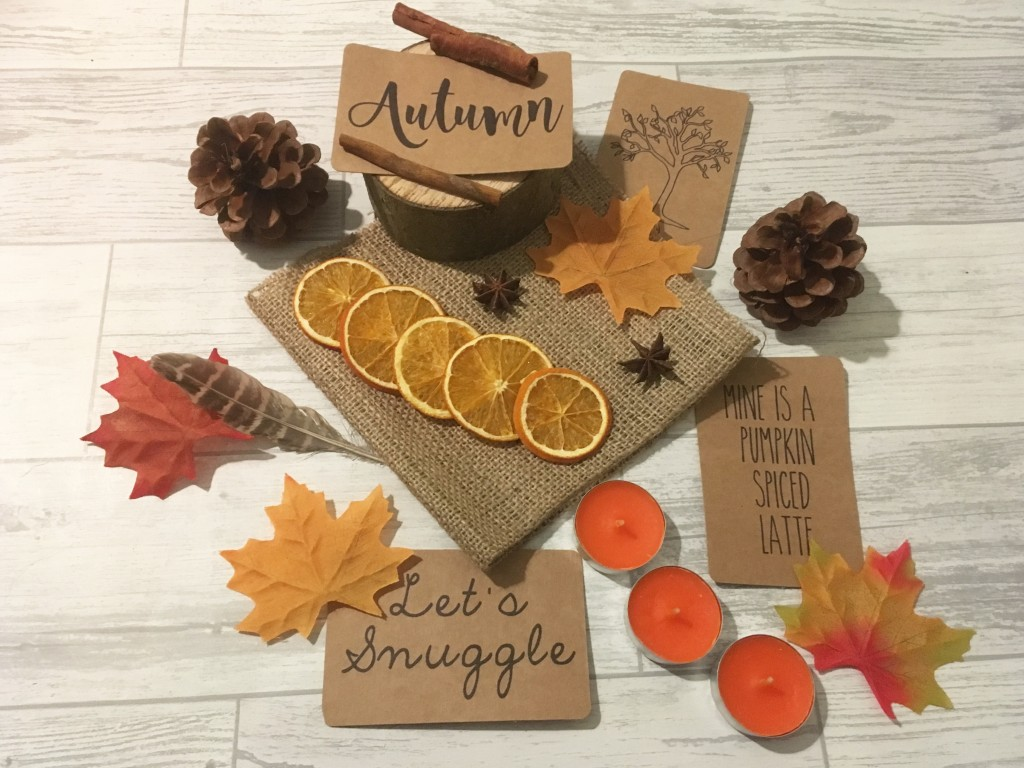 Autumn Flat Lay Box