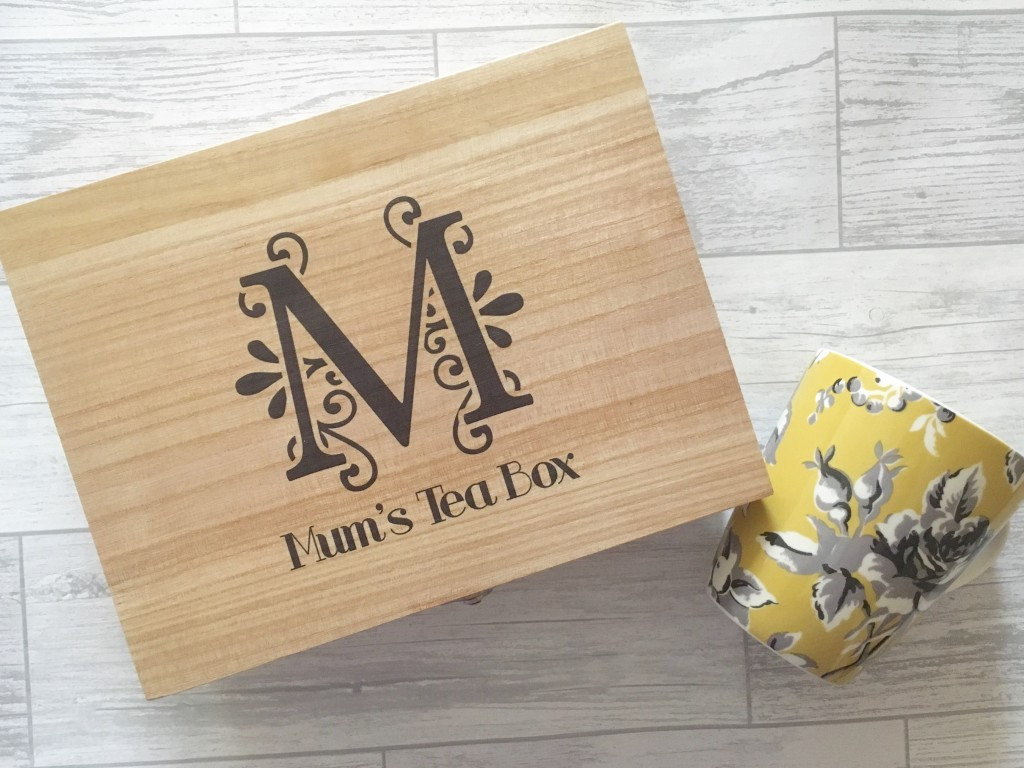 Personally Presented - Tea Box