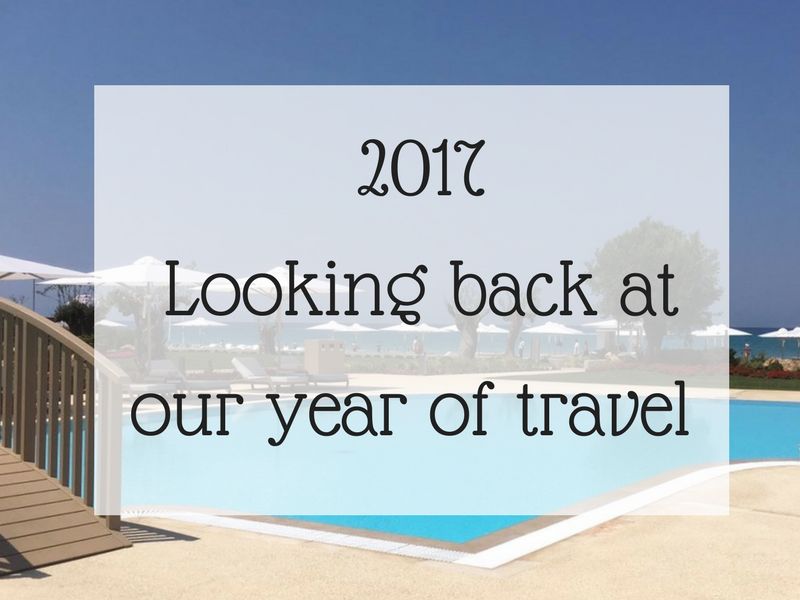 2017 - Looking back at our year of travel