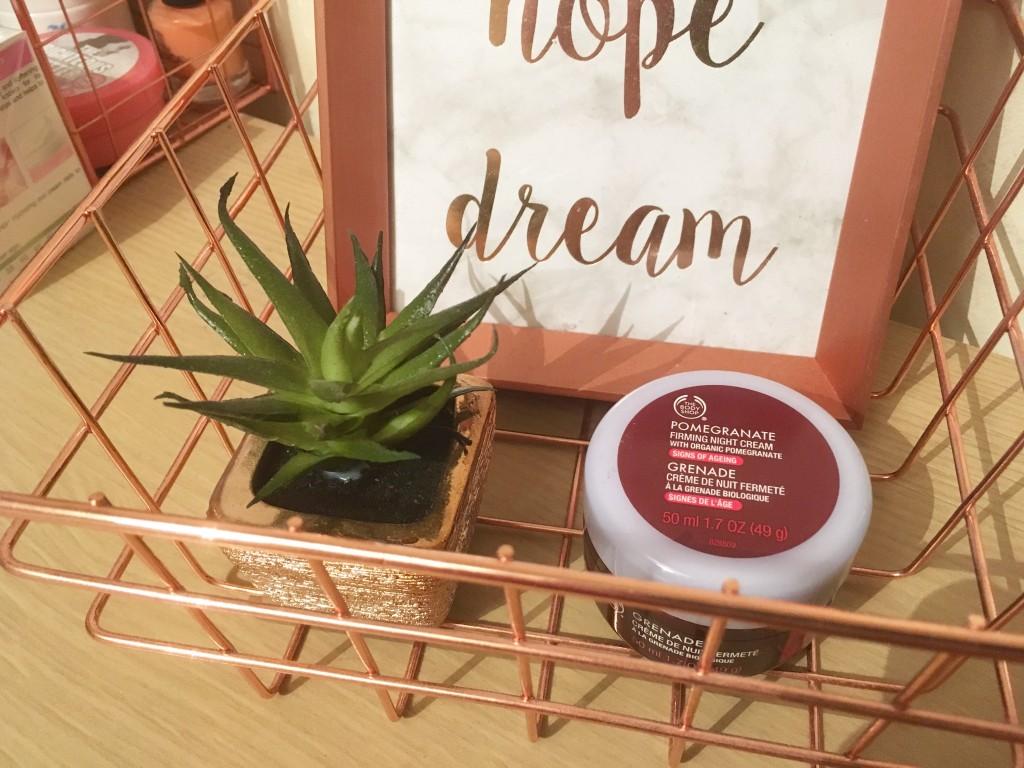 Body Shop Night Cream