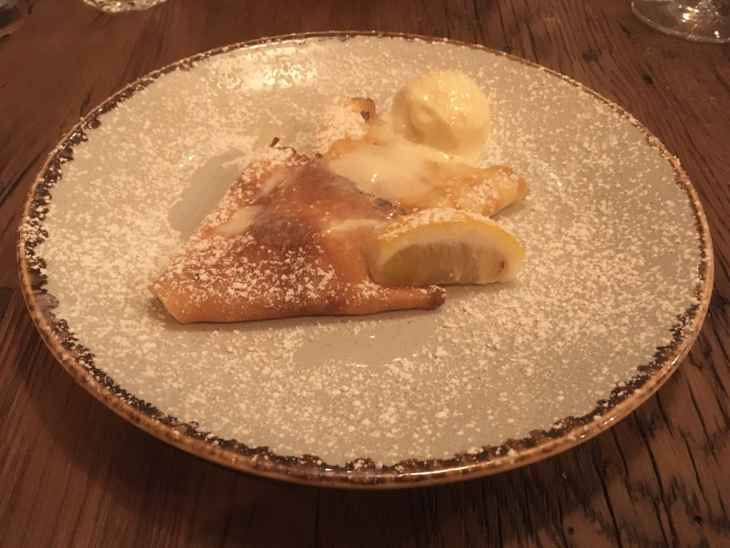 Crepes at Bistrot Pierre
