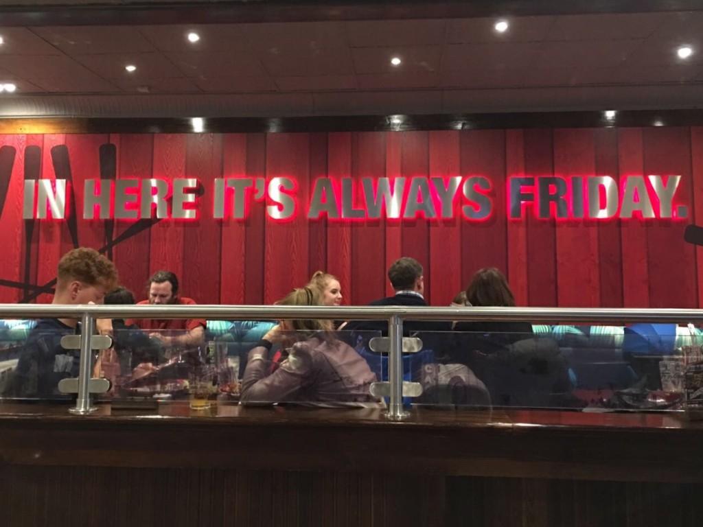 TGI Fridays Cheshire Oaks