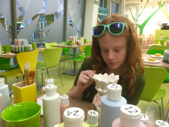 Center Parcs Pottery Painting