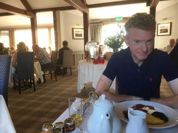 Breakfast at The Coniston Hotel